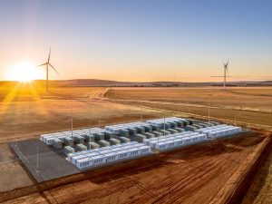 Wind Farm and Battery Storage